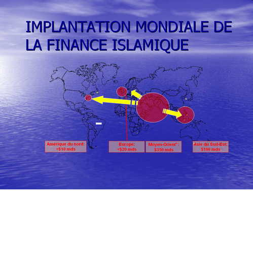 Implantation mondiale de la finance islamique